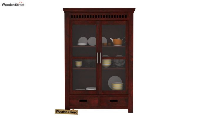 Adolph Small Kitchen Cabinet (Mahogany Finish)-2