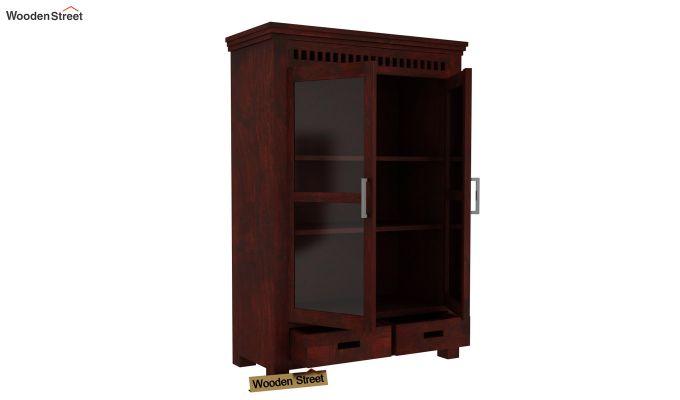 Adolph Small Kitchen Cabinet (Mahogany Finish)-3