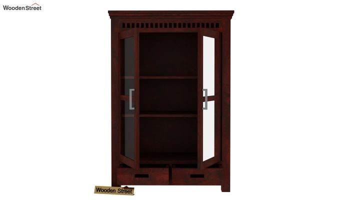 Adolph Small Kitchen Cabinet (Mahogany Finish)-4