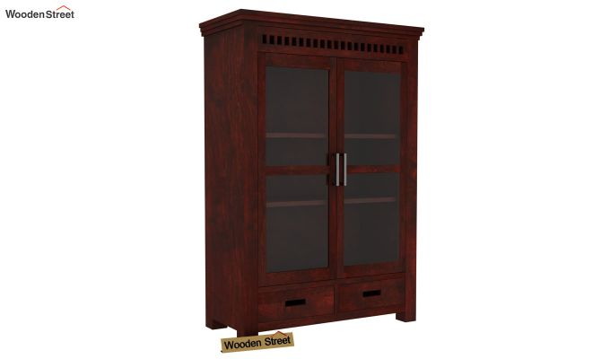 Adolph Small Kitchen Cabinet (Mahogany Finish)-5