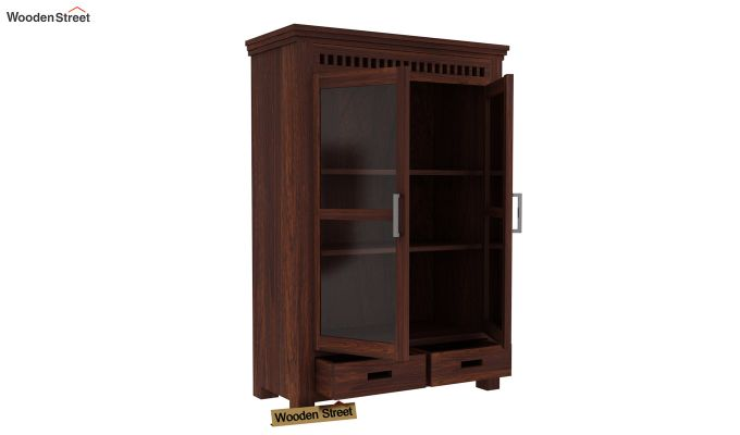 Adolph Small Kitchen Cabinet (Walnut Finish)-3