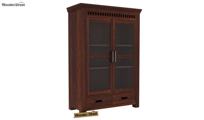 Adolph Small Kitchen Cabinet (Walnut Finish)-5