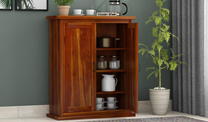 Apex Kitchen Cabinet (Honey Finish)-2