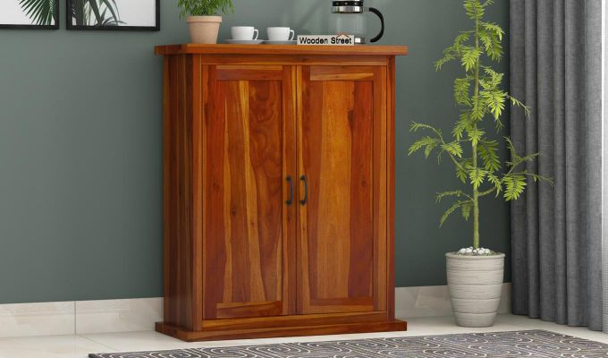 Apex Kitchen Cabinet (Honey Finish)-1