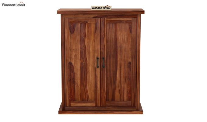 Apex Kitchen Cabinet (Teak Finish)-4