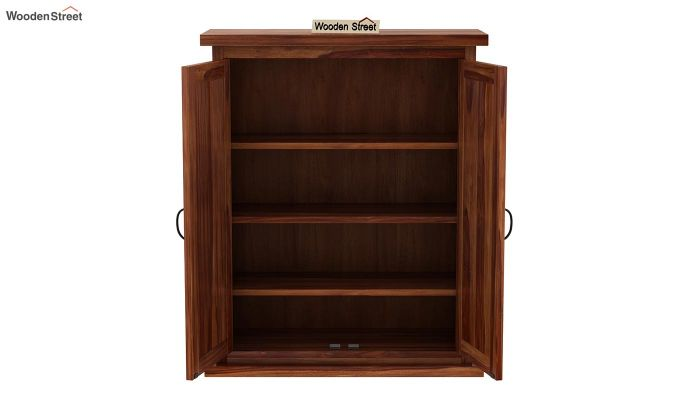 Apex Kitchen Cabinet (Teak Finish)-5