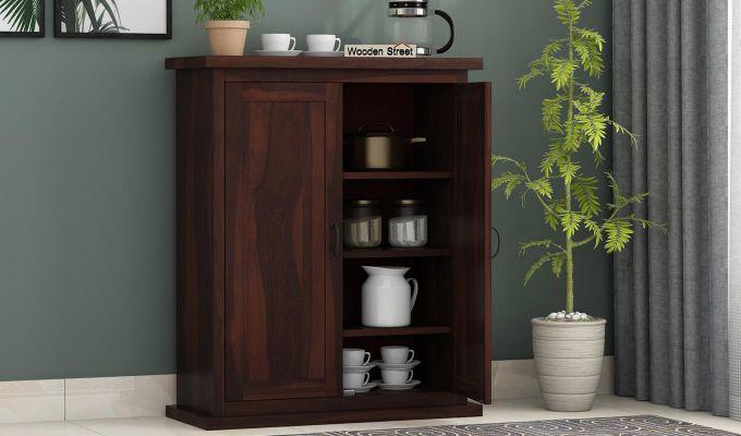 Apex Kitchen Cabinet (Walnut Finish)-2