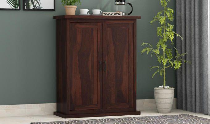 Apex Kitchen Cabinet (Walnut Finish)-1