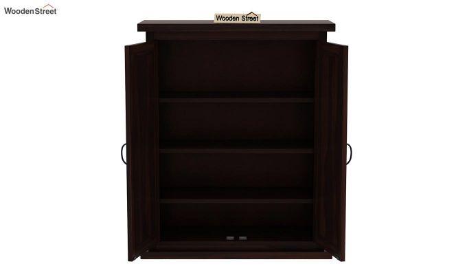 Apex Kitchen Cabinet (Walnut Finish)-5