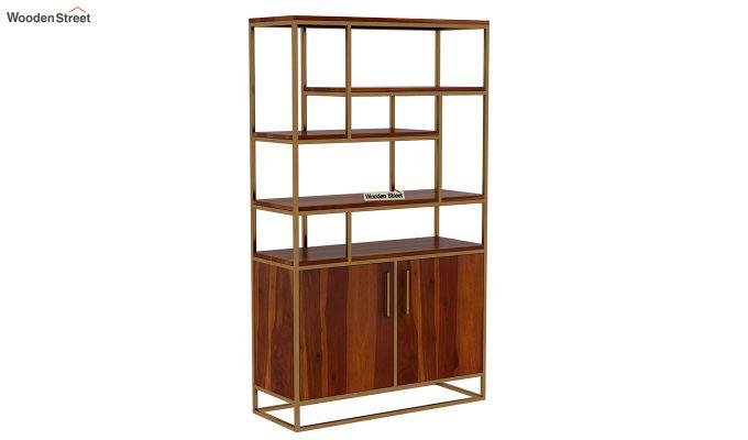 Atris Kitchen Cabinet (Honey Finish)-3