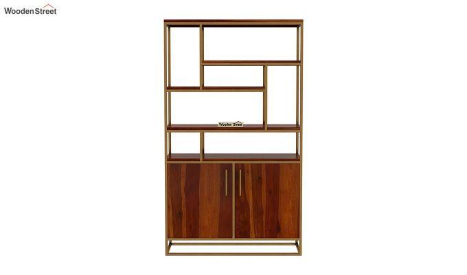 Atris Kitchen Cabinet (Honey Finish)-4