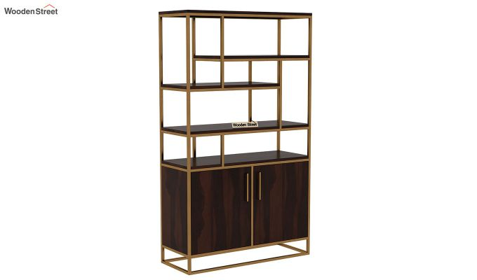 Atris Kitchen Cabinet (Walnut Finish)-3