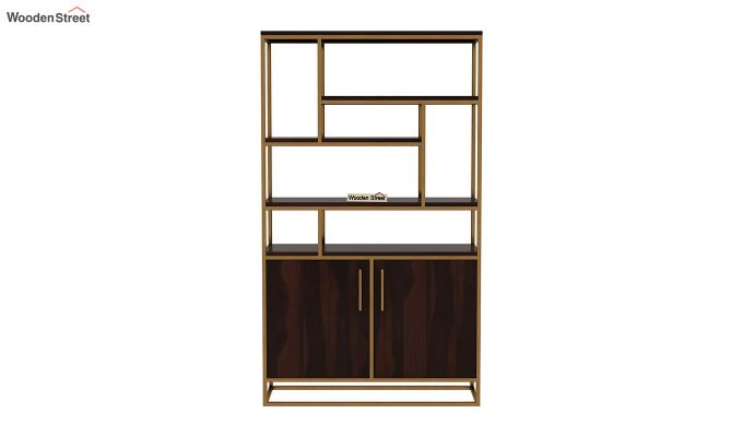 Atris Kitchen Cabinet (Walnut Finish)-4