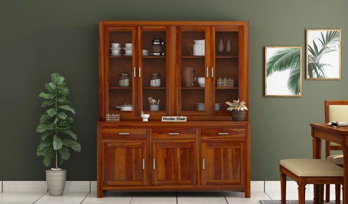 Bago Kitchen Cabinet (Honey Finish)-2
