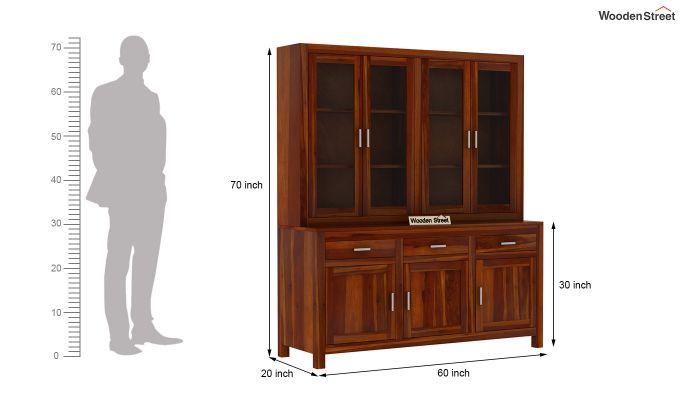 Bago Kitchen Cabinet (Honey Finish)-7