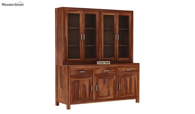 Bago Kitchen Cabinet (Teak Finish)-3