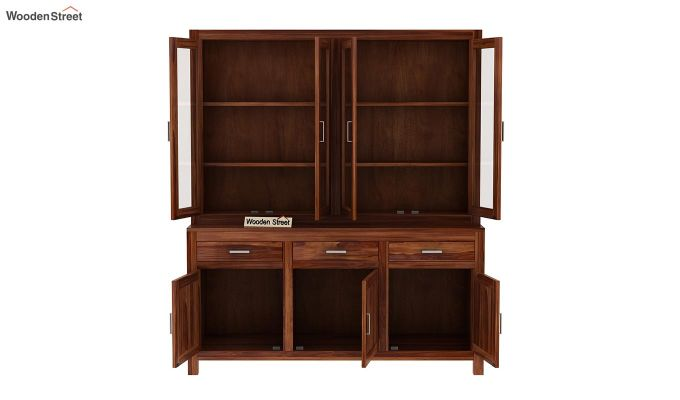 Bago Kitchen Cabinet (Teak Finish)-6