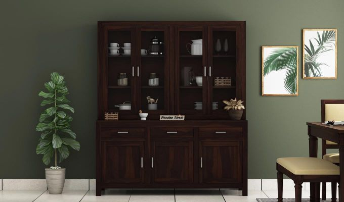 Bago Kitchen Cabinet (Walnut Finish)-2