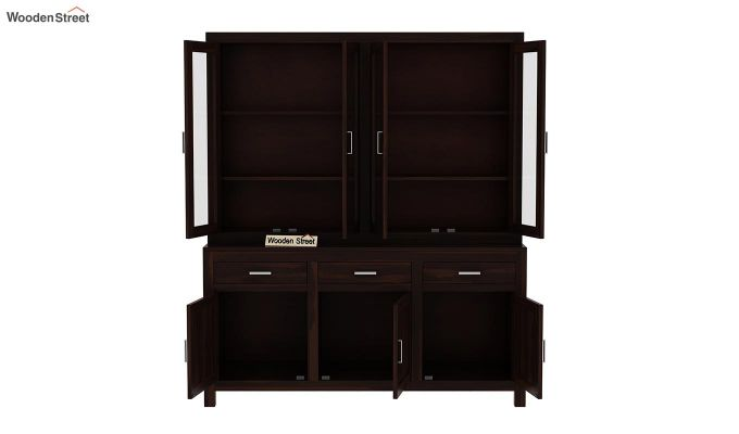 Bago Kitchen Cabinet (Walnut Finish)-6