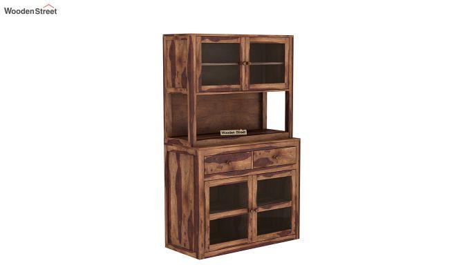 Darius Kitchen Cabinet (Teak Finish)-2