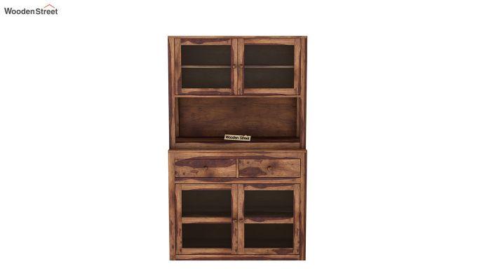 Darius Kitchen Cabinet (Teak Finish)-3