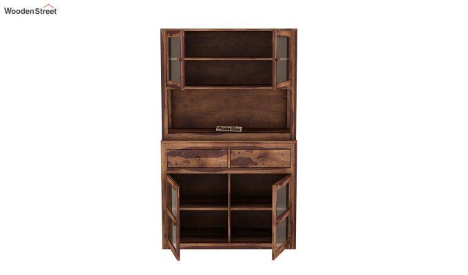 Darius Kitchen Cabinet (Teak Finish)-7
