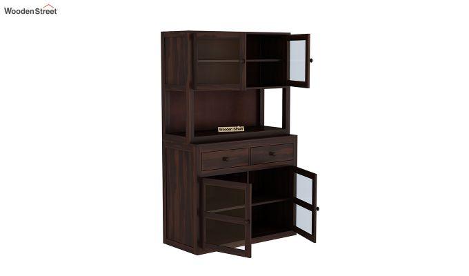 Darius Kitchen Cabinet (Walnut Finish)-6