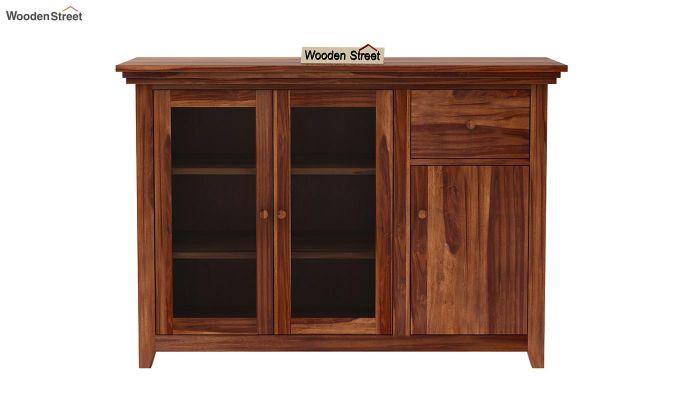 Earnville Kitchen Cabinet (Teak Finish)-3