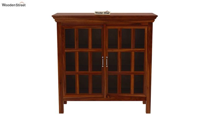 Foster Kitchen Cabinet (Honey Finish)-3