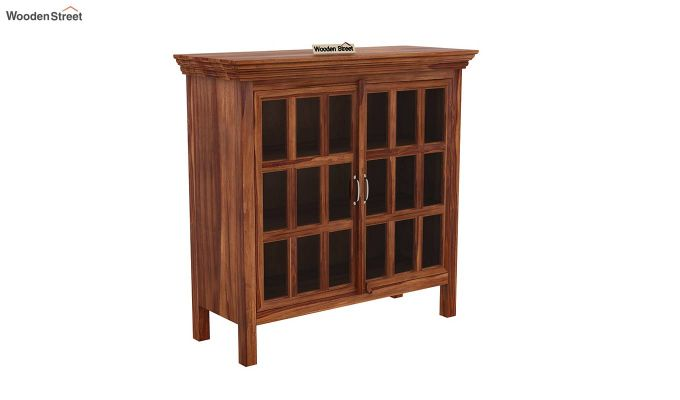 Foster Kitchen Cabinet (Teak Finish)-2