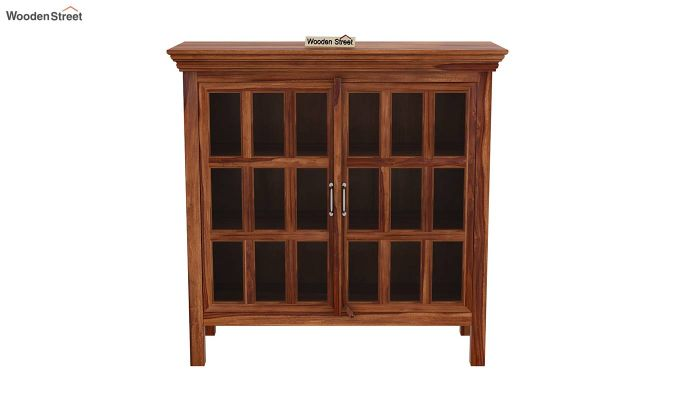 Foster Kitchen Cabinet (Teak Finish)-3