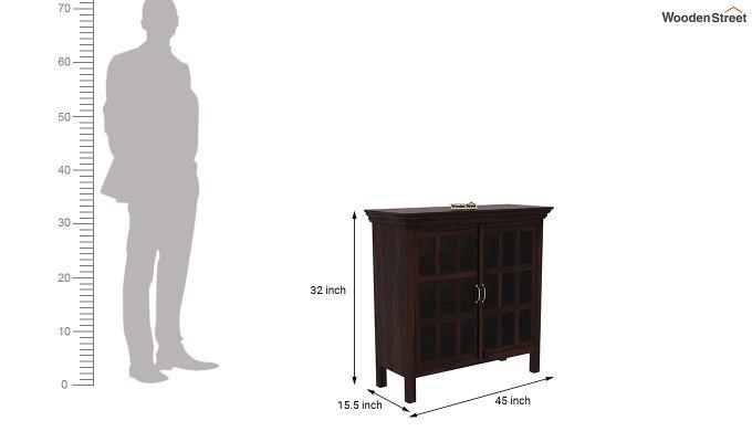 Foster Kitchen Cabinet (Walnut Finish)-5