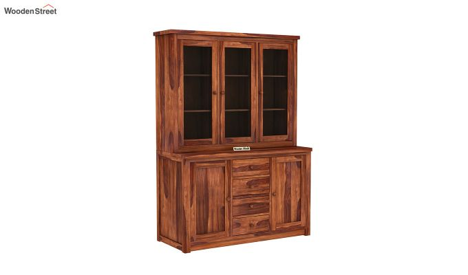 Monarch Kitchen Cabinet (Honey Finish)-2