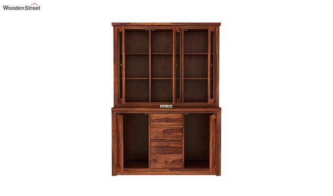 Monarch Kitchen Cabinet (Honey Finish)-5