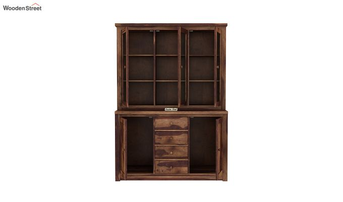 Monarch Kitchen Cabinet (Teak Finish)-5
