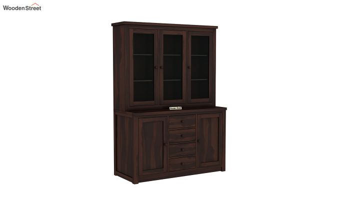 Monarch Kitchen Cabinet (Walnut Finish)-2
