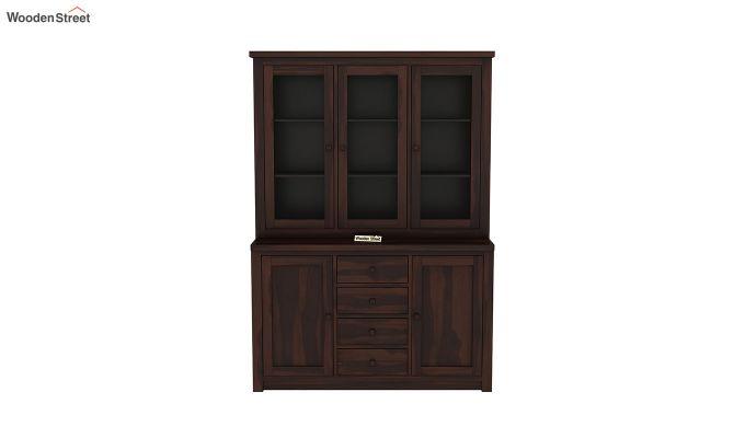 Monarch Kitchen Cabinet (Walnut Finish)-3