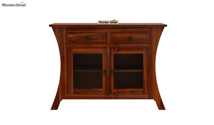 Picard Kitchen Cabinet (Honey Finish)-3
