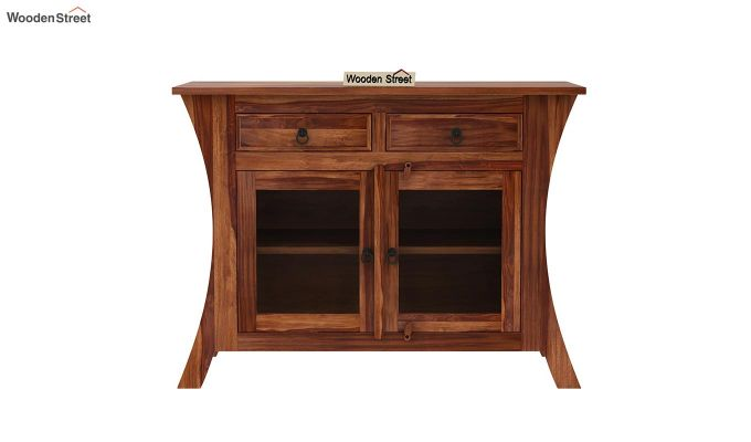 Picard Kitchen Cabinet (Teak Finish)-3