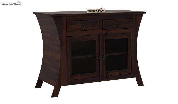Picard Kitchen Cabinet (Walnut Finish)-2