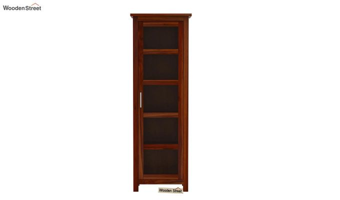 Prima Kitchen Cabinet (Honey Finish)-3