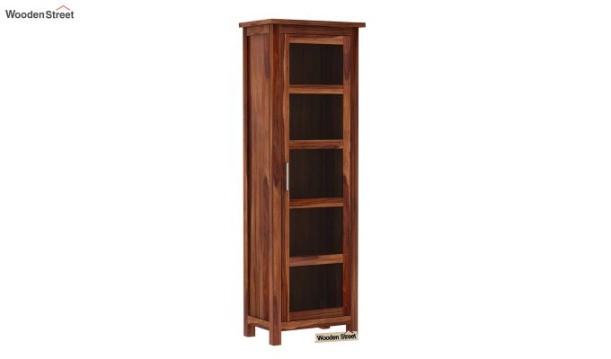 Prima Kitchen Cabinet (Teak Finish)-2