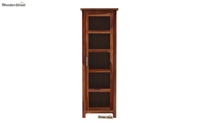 Prima Kitchen Cabinet (Teak Finish)-3