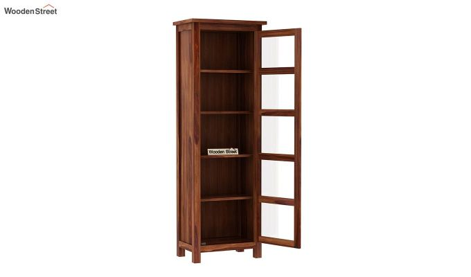 Prima Kitchen Cabinet (Teak Finish)-4