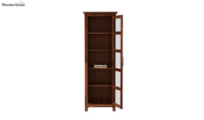 Prima Kitchen Cabinet (Teak Finish)-5