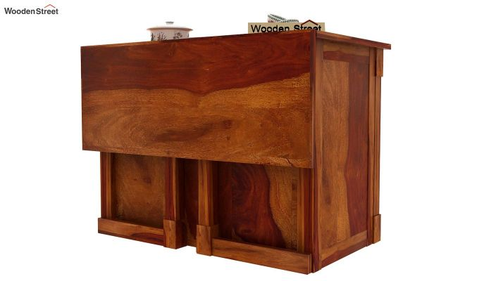 Belle Kitchen Island (Honey Finish)-7