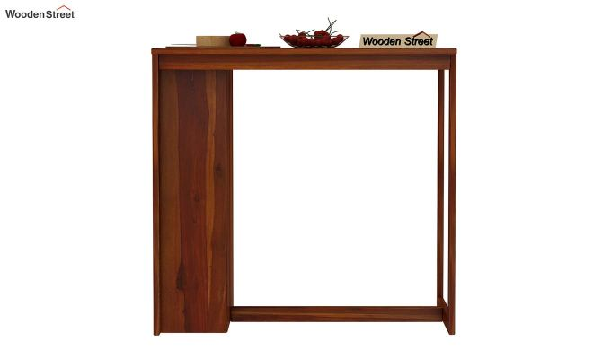 Leron Kitchen Island (Honey Finish)-3