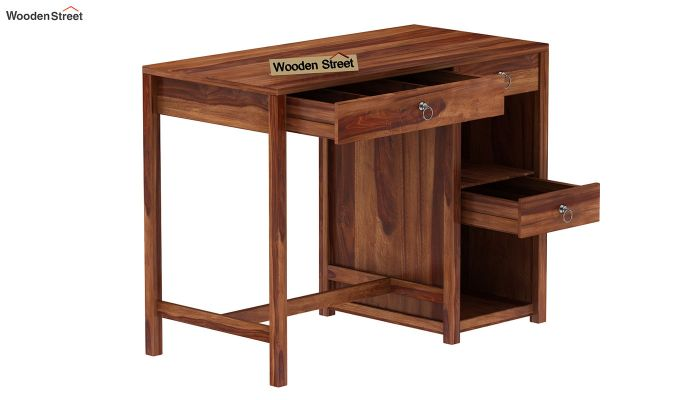 Renart Kitchen Island (Teak Finish)-6