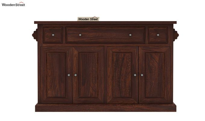 Tiana Kitchen Island (Walnut Finish)-5