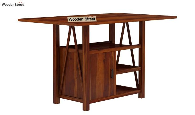 Trudy Kitchen Island (Honey Finish)-4